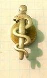 Польский франчный значок медика., фото №3
