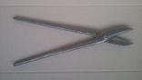 Ножницы по металлу 375 мм напайки из самокальной стали, фото №3
