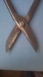 Ножницы по металлу 375 мм напайки из самокальной стали, фото №8