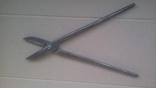 Ножницы по металлу 375 мм напайки из самокальной стали, фото №9