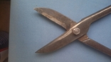 Ножницы по металлу 375 мм напайки из самокальной стали, фото №12