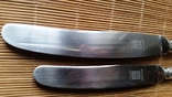 Ножі столовий і десертний, 800 Bruckmann & Sohne, фото №3
