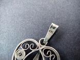 Старий срібний кулончик. 835 пр. Німеччина., фото №6