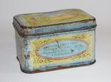 """Коробка для чая """"Грузинский чай"""" Главчай 50 грамм, 1946 год, фото №2"""