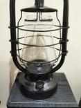 Лампа керосиновая большая, фото №3
