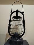 Лампа керосиновая большая, фото №6