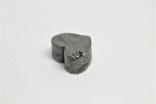 Залізній метеорит Muonionalusta, форма серця, 5,6 грам, сертифікат автентичності, фото №8