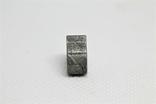 Залізній метеорит Muonionalusta, форма серця, 5,6 грам, сертифікат автентичності, фото №5