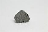 Залізній метеорит Muonionalusta, форма серця, 5,6 грам, сертифікат автентичності, фото №6