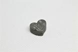 Залізній метеорит Muonionalusta, форма серця, 5,6 грам, сертифікат автентичності, фото №9