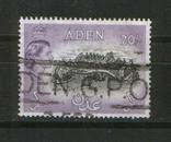 Брит. колонии. Аден, вид 1572 года, высокий номинал, КЦ 20 Евро, фото №2