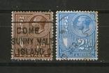 Брит. колонии. 1930  Мальта, король Георг V, лот 2 шт., фото №2