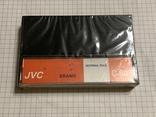 Аудиокассета JVC новая, фото №2