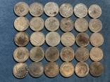 Копии серебрянных монет мира 30 шт одним лотом, фото №3