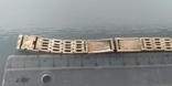 Браслет к часам серебро 875 пробы (ЛФ7) 20 грамм, фото №3