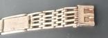 Браслет к часам серебро 875 пробы (ЛФ7) 20 грамм, фото №8