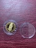 2 гривні Золото 1,24 грама Байбак Бабак 2007, фото №3