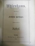 Старая немецкая книга 1884г., фото №3