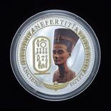 2 Доллара 2014 Нефертити - Древний Египет, Соломонвы Острова, фото №2