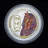 2 Доллара 2014 Тутанхамон - Древний Египет, Соломонвы Острова, фото №2