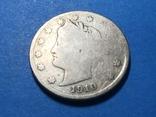 5 центов сша 1910 г., фото №2