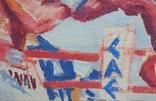 "В.Кнышевский ""На ринге"", х.м.24*37,5см, 1985, фото №3"