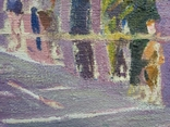 "В.Кнышевский ""Финиш"", х.м.32*54см, 1979г, фото №11"