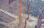 "В.Кнышевский ""Весна"", х.м.30*36см, 1985г, фото №8"