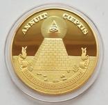 Всевидящий глаз - Масонская пирамида ANNUIT COEPTIS, фото №2
