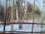 В весеннем лесу, х., м., 50х70 см. Алек Гросс, фото №7