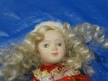 Кукла-Снегурочка фарфоровая, фото №6
