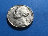 5 центов сша 1981 Р, фото №2