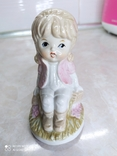 Статуэтка Девочка на пеньке, фото №2