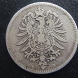 1 марка 1875 рік В, фото №3