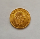 4 флорина/ 10 франков 1892 года, Австро-Венгрия, фото №6