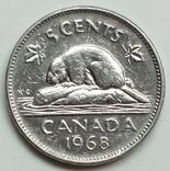 5 центов 1968 г. Канада, фото №2