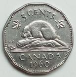 5 центов 1960 г. Канада, фото №2