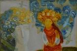 """Картина  """"Ой летели дикие гуси"""" 2012 г.  Художник Пантелемонова Инна., фото №5"""