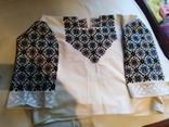 Сорочка вишита давня рукавка, фото №7