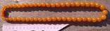 Бусы янтарные 74 грамма., фото №3