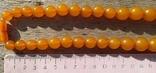 Бусы янтарные 74 грамма., фото №4