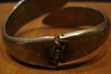 Медный браслет с камушками, фото №4