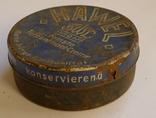 Старая жестяная немецкая коробка., фото №3