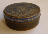 Старая жестяная немецкая коробка., фото №4