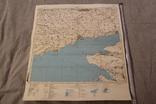 Карта генеральный штаб Мариуполь (Жданов) 1:500000 1986, фото №2