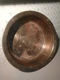 Таз, большой , СССР, Кольчугино, 60-е! Латунь, клеймо (1,3 кг), фото №9