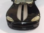 Модель Dodge Viper Bburago 1:24, фото №3