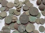 Лот убитих монет 100 штук+гудзики, фото №10