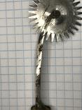 Старинный разметочный инструмент для обработки кожи, фото №6