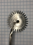Старинный разметочный инструмент для обработки кожи, фото №7